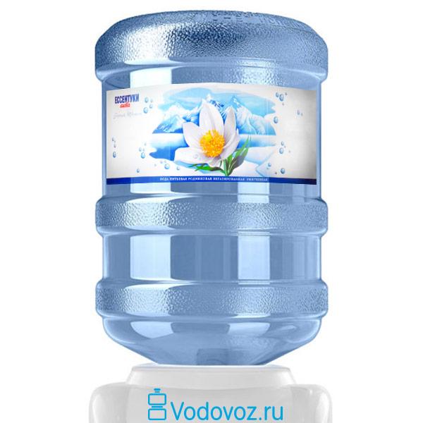 Вода Горный цветок Ессентуки-Аква 19 литров