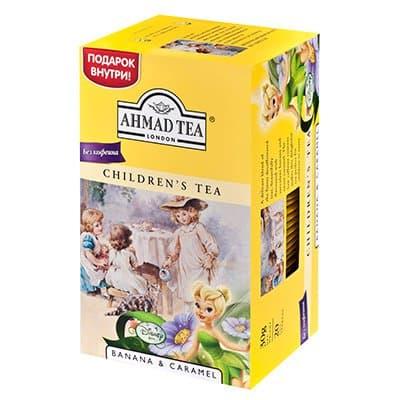 Ahmad / Ахмад детский чай с ароматом банана и карамель фея (20пак)