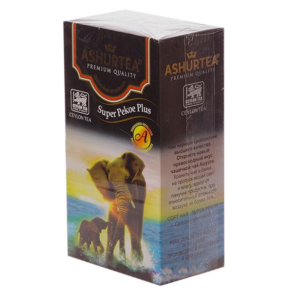 Чай черный Ashurtea Super Pekoe среднелистовой 400 гр