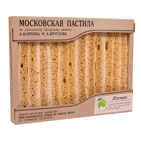 Пастила Московская яблочная (Ферма Круглов А. и Карпов А.) 85 гр