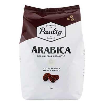 Кофе Paulig Arabica зерно м/у (1кг)