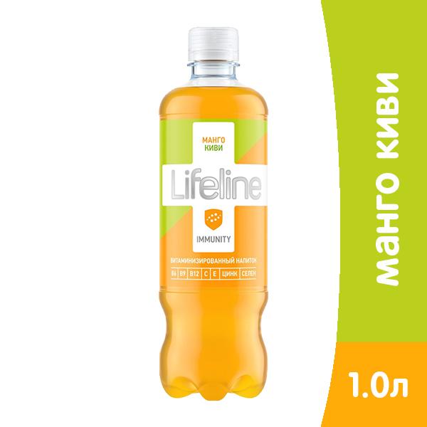 Витаминизированный напиток Life Line Immunity манго и киви 0.5 литра, пэт, 12 шт. в уп. фото