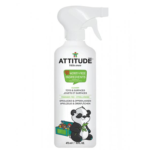 Спрей для очищения игрушек и игровых поверхностей Attitude 475 мл.