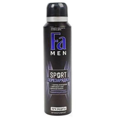Антиперспирант аэрозоль FA Men Sport перезарядка 150 мл