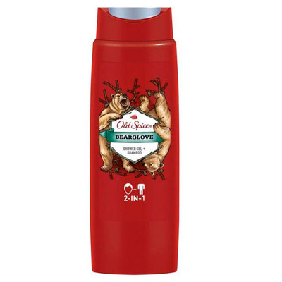 Гель для душа Old Spice Bearglove с шампунем 2в1 250 мл фото