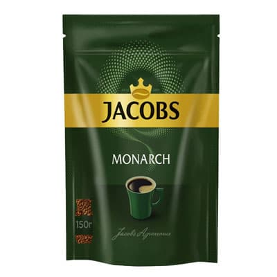 Jacobs Monarch / Якобс Монарх растворимый м/у (150гр)