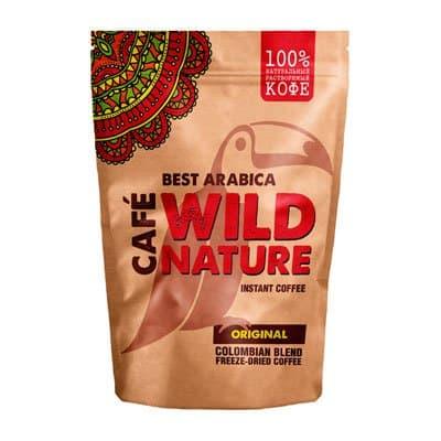 Кофе Wild Nature Original растворимый м/у 75гр