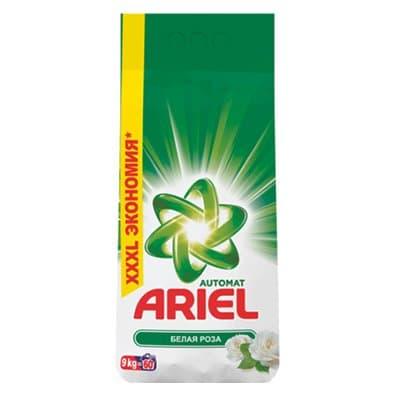 Стиральный порошок Ariel Автомат Белая роза 9 кг (1шт.)