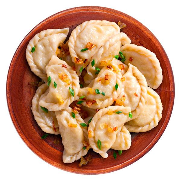 Вареники с картофелем и белыми грибами (Ферма Белан С.В.) 500 гр