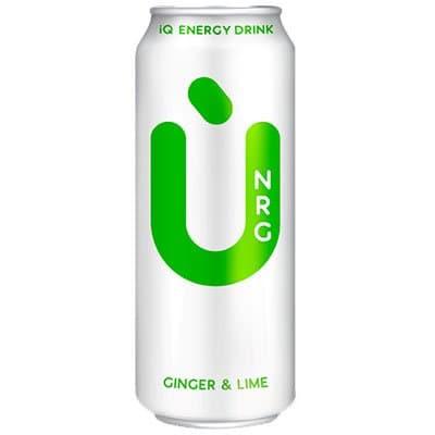 Энергетик U NRG Сinger&Lime 0,5л (24шт)
