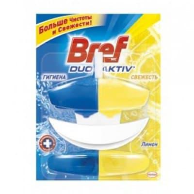 Чистящее средство для унитазов Bref duo aktiv лимон сменный блок 50ml (1шт.) фото