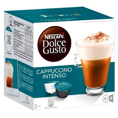 Кофе в капсулах Nescafe Dolce Gusto Cappuccino Intenso 8 шт - 17гр + 8 шт 7гр