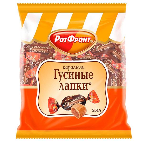 Карамель РотФронт Гусиные лапки 250 гр