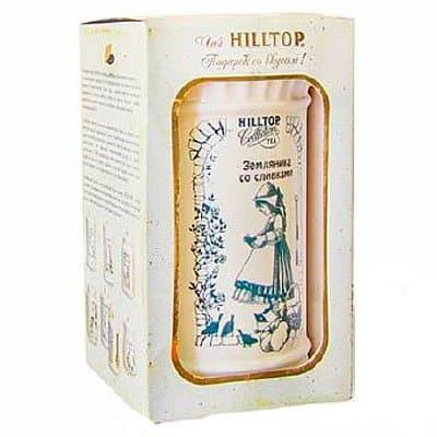 Чай хилтоп снежный шар зимняя сказка черный лист 100 г ж/б