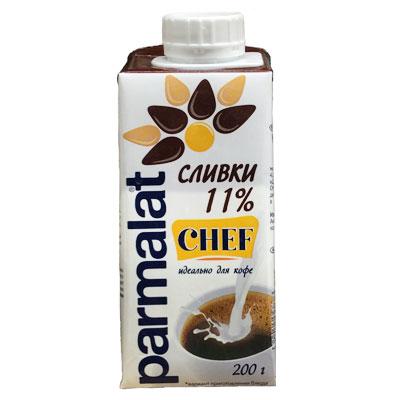 Сливки Parmalat 11% БЗМЖ 200 гр (27 шт) фото