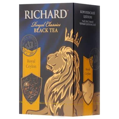 Чай Richard Royal Ceylon 90 гр фото