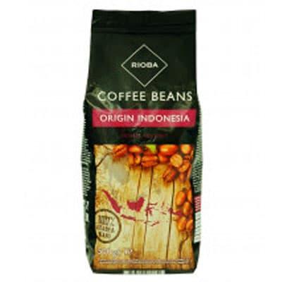 Кофе Rioba Origin Indonesia в зернах в/у 500 гр