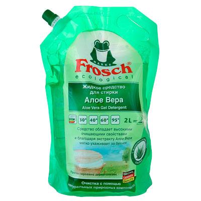 Жидкое средство для стирки Frosch Ecological Алое Вера 2 литра фото