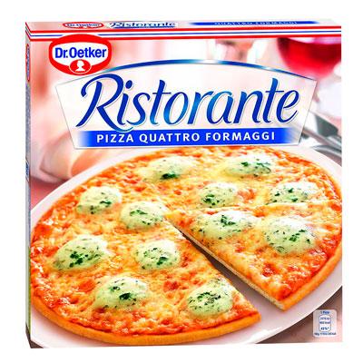 Пицца Dr.Oetker Ristorante 4 сыра 340 гр.