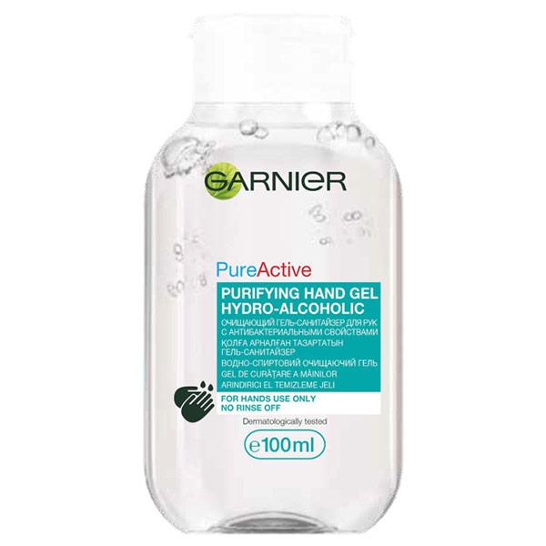 Гель-санитайзер для рук с антибактериальными свойствами Garnier 100 мл