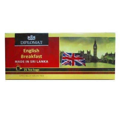 Diplomat English Breakfast 25 пак