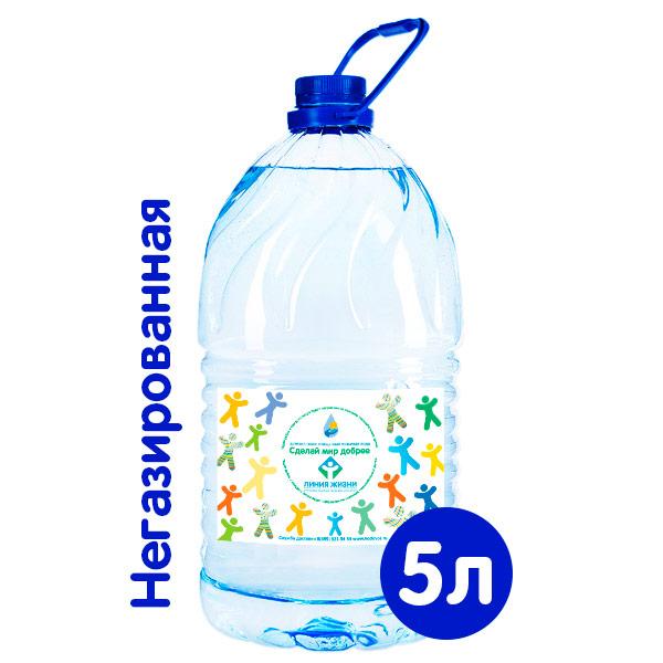 Вода Сделай Мир Добрее 5 литров, 4 шт. в уп.
