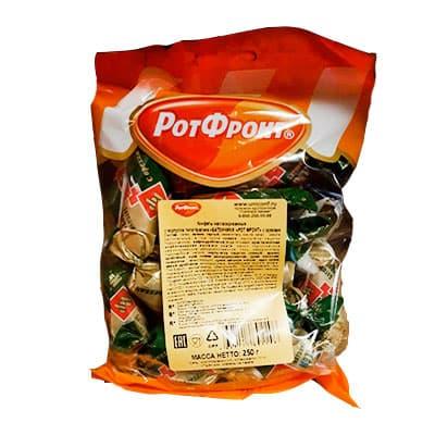 Конфеты Батончики с орехами Рот Фронт 250 гр фото