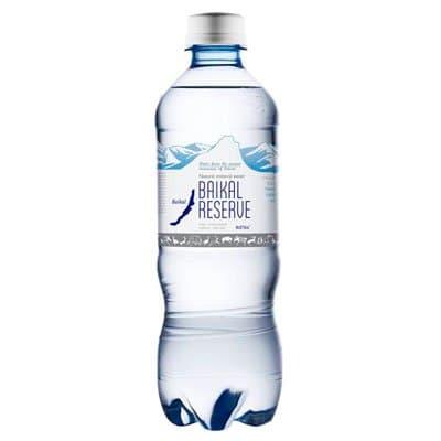 Вода Baikal Reserve 0.5 литра, газ, пэт, 12шт. в уп.