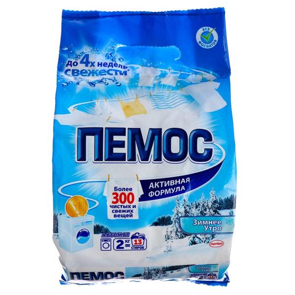 Стиральный порошок Пемос Активный кислород автомат 2 кг фото