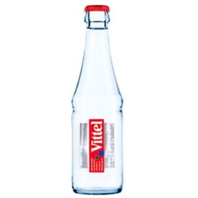 Вода Vittel / Виттель 0.25 литра, без газа, стекло, 24шт. в уп.