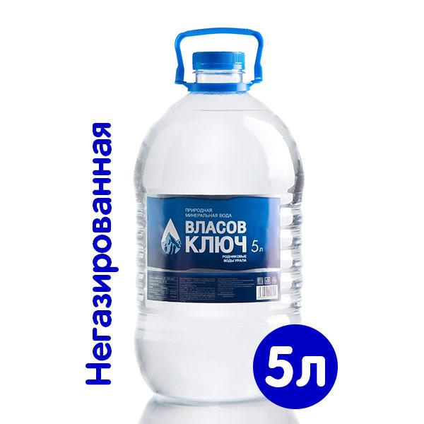 Вода Власов ключ 5 литров, 2 шт. в уп. фото