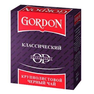 Чай Gordon классический крупнолистовой 100гр
