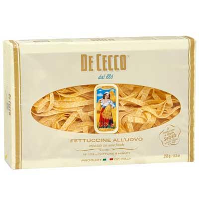 Макароны De Cecco Fettuccine 250гр (2шт)