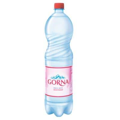 Вода Gorna 1.5 литра, без газа, пэт, 6шт. в уп.