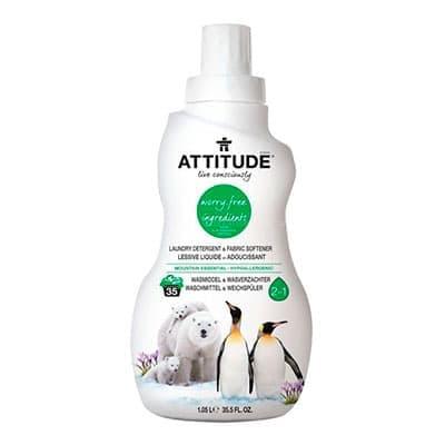Жидкость для стирки Attitude Mountain Essential гипоаллергенная 1040 мл.