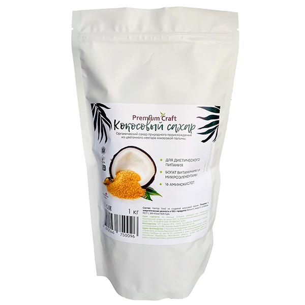 Сахар кокосовый Premium craft 1 кг