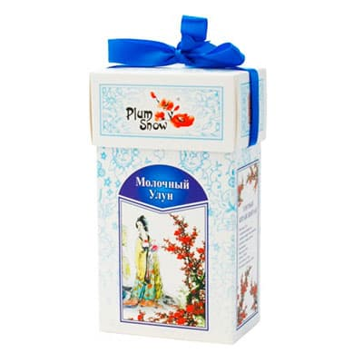 Чай Plum Snow зеленый Молочный улун 100 гр