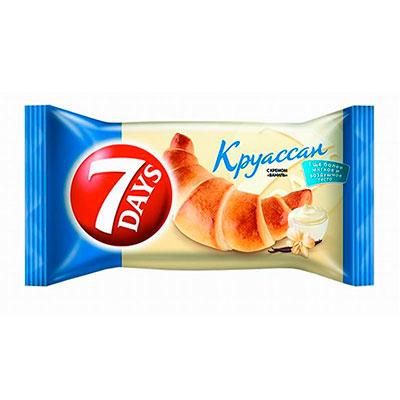 Круассан 7Days с кремом ваниль 65 гр