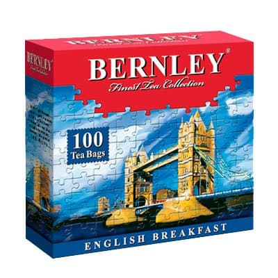 Чай Bernley English Breakfast (100пак.)