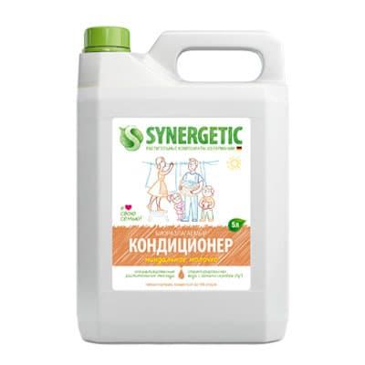 Кондиционер Synergetic для белья Миндальное молочко биоразлагаемый 5 литров фото