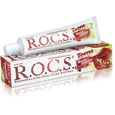 Зубная паста R.O.C.S кола и лимон (74мл)