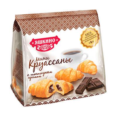 Мини-круассаны Яшкино с шоколадным кремом 180 гр