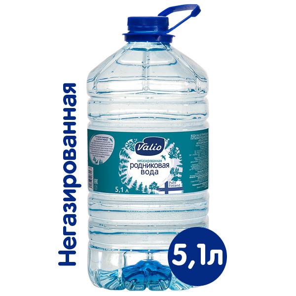 Вода Valio 5,1 литра фото