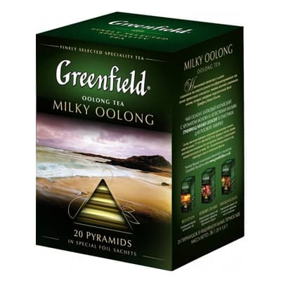 Greenfield / Гринфилд Milky Oolong 20 пир фото