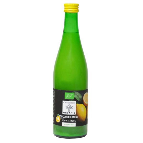 Сок лимона Casa Rinaldi 100% БИО 500 мл