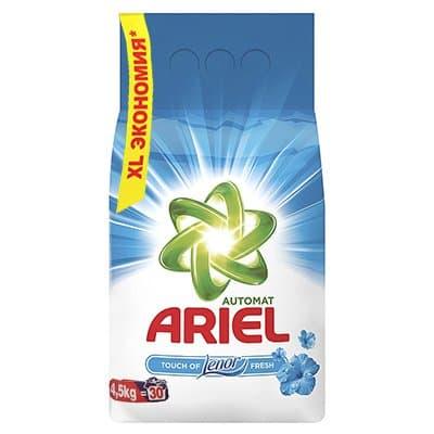Стиральный порошок Ariel Автомат touch of lenor fresh 4,5 кг (1шт.)
