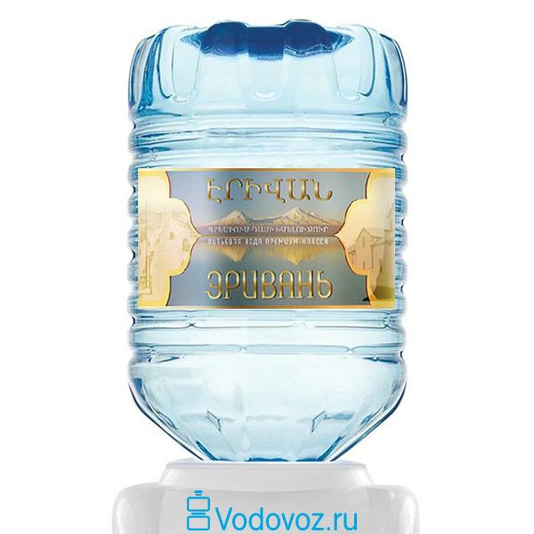 Вода Эривань 19 литров в одноразовой таре