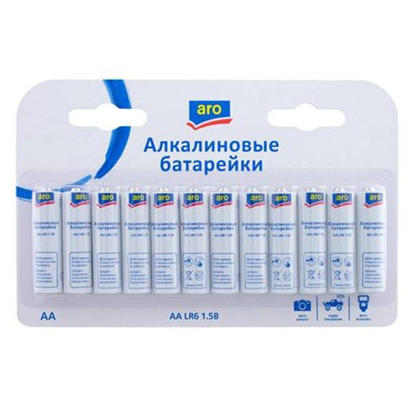 Батарейки ARO серия AA 12 шт. фото