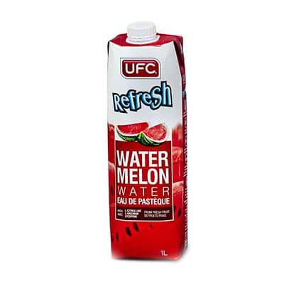 Арбузная вода UFC Refresh 0,5 литра, без газа, пак, 12 шт. в уп.