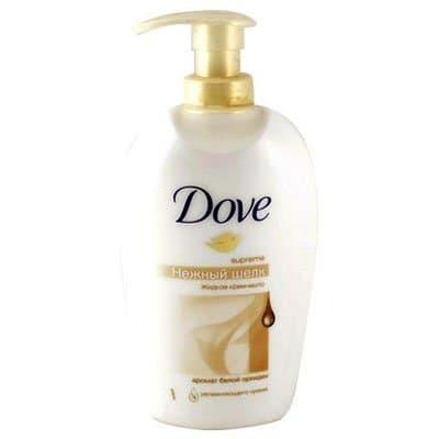 """Жидкое Крем-мыло """"Dove"""" нежный шелк 250 мл. (1шт.)"""